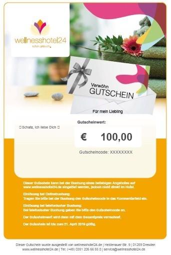 wellnesshotel24 Gutschein