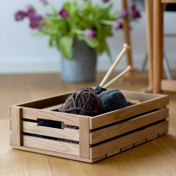 42 weinkisten deko ideen und mobiliar. Black Bedroom Furniture Sets. Home Design Ideas