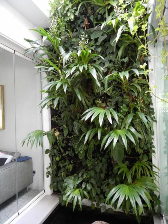 wohnideen vertikaler garten pflanzen naturnah