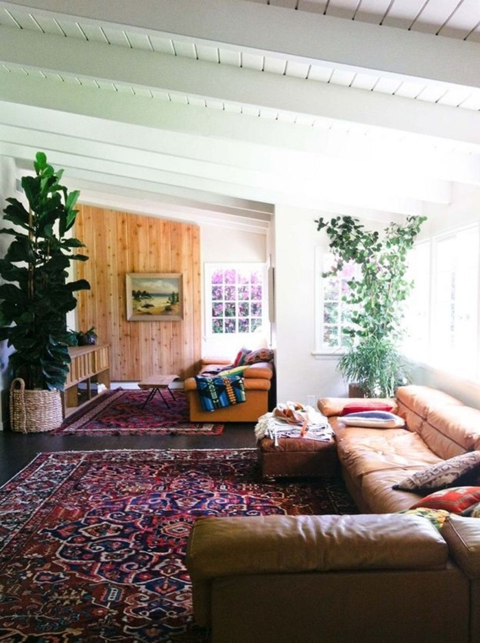 Vintage Teppich  Ideen mit schönen Textilien und Mustern