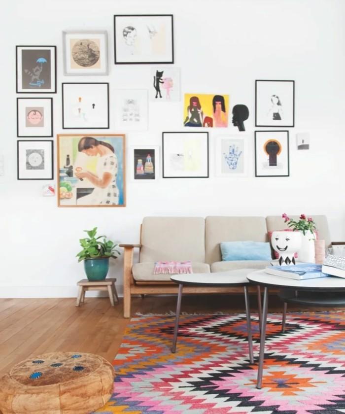 vintage teppich - ideen mit schönen textilien und mustern für ... - Teppich Ideen