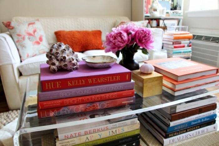 wohnung dekorieren 55 dekoideen wie sie b cher ins innendesign einbeziehen. Black Bedroom Furniture Sets. Home Design Ideas