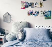 Wohneinrichtung ideen in tumblr style Wohnung dekorieren fasching