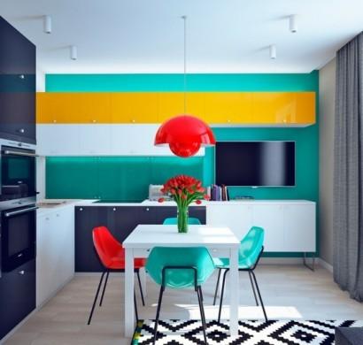 Was Sollten Sie über Die Wohnungseinrichtung Mit Kräftigen Farben Wissen