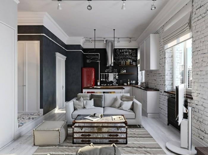 Moderne Lampen 66 : Wohnzimmer lampen ausgefallene ideen für die beleuchtung des
