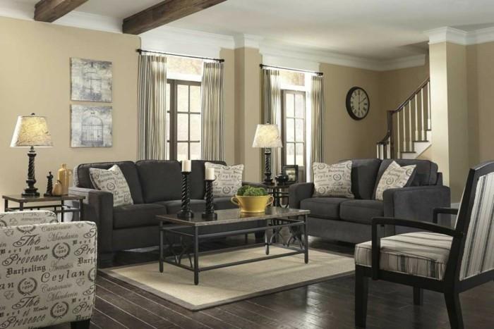 wohnzimmer lampen 66 ausgefallene ideen f r die beleuchtung des wohnbereiches. Black Bedroom Furniture Sets. Home Design Ideas