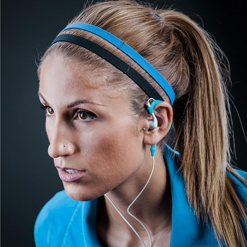 Damenmode Sportsbeklidung Fitness Studio Accessoires Kopfhörer
