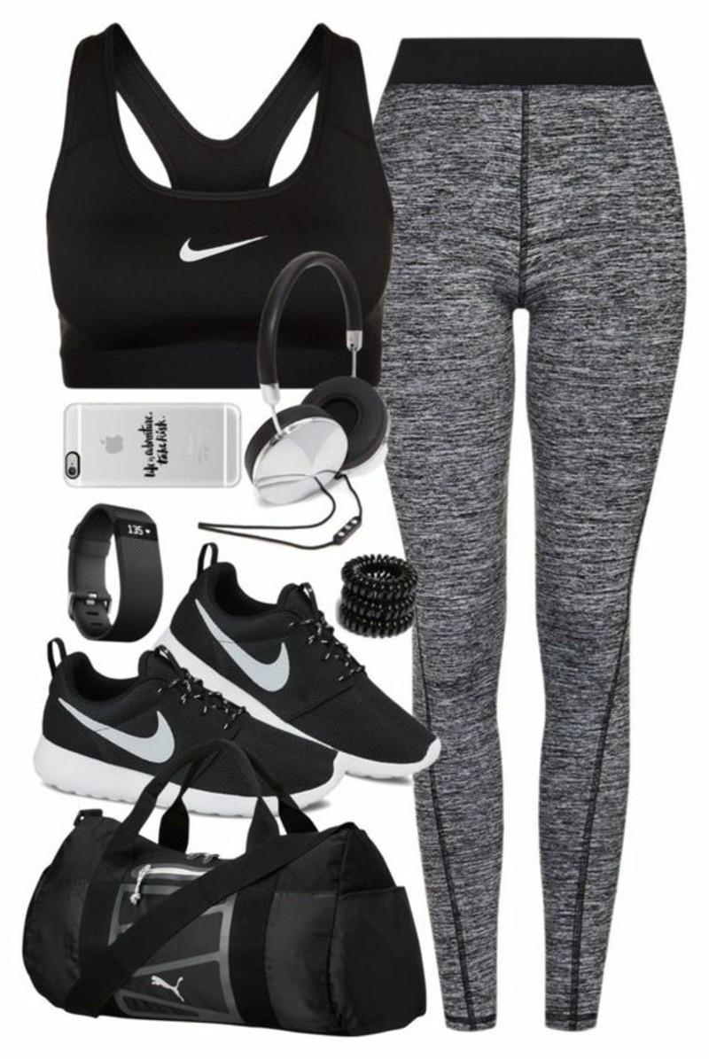 Damenmode Sportsbeklidung Fitness Studio Sport Outfit