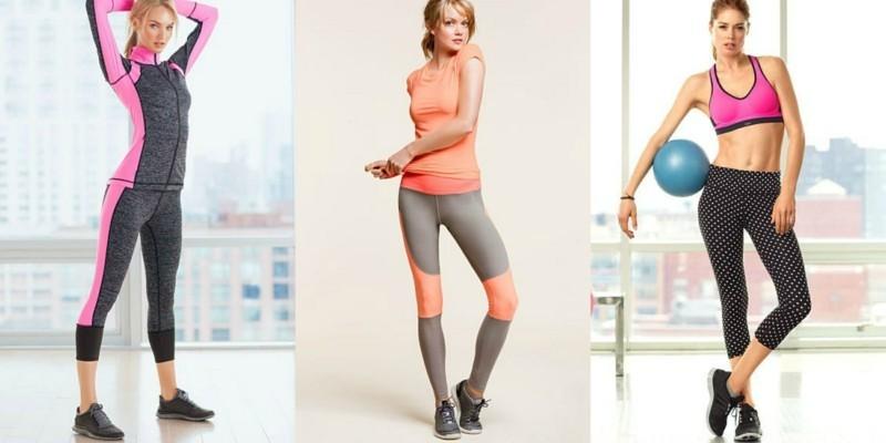 Damenmode Sportsbeklidung Fitness Studio