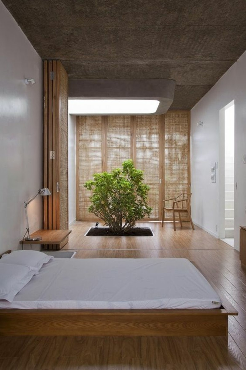 Einrichtungsbeispiele Schlafzimmer im Japanischen Stil