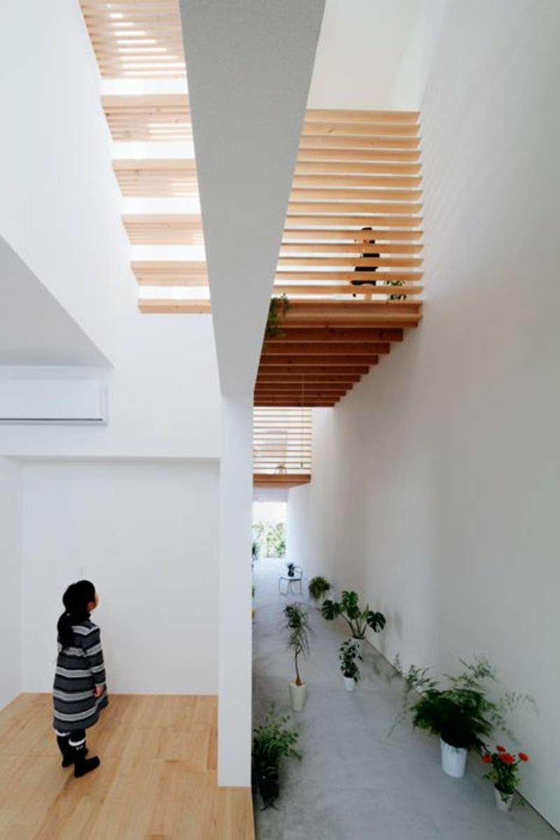 Einrichtungsbeispiele im Japanischen Stil Holztreppen