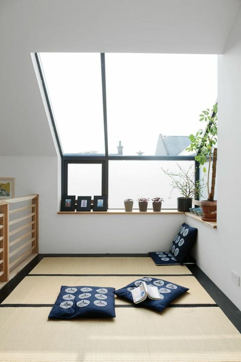 Einrichtungsbeispiele im Japanischen Stil Sitzkissen