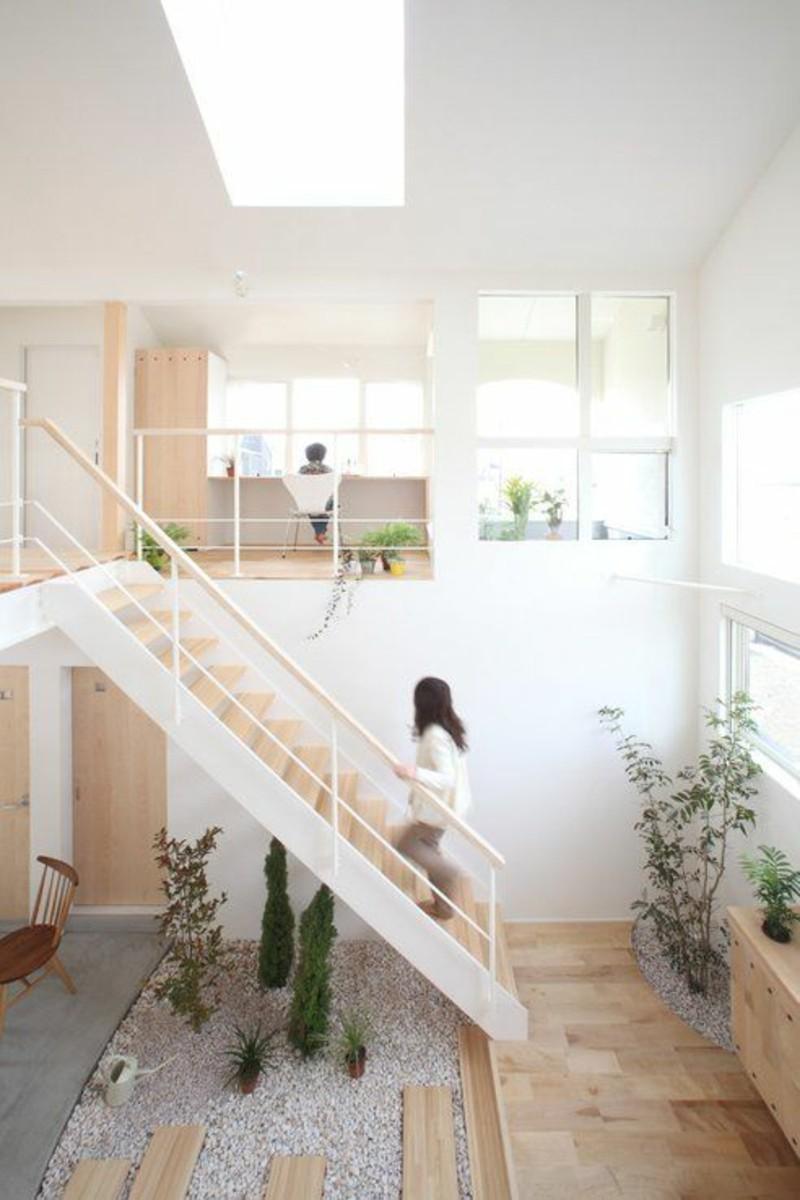Einrichtungsbeispiele im Japanischen Stil hohe Zimmerdecken