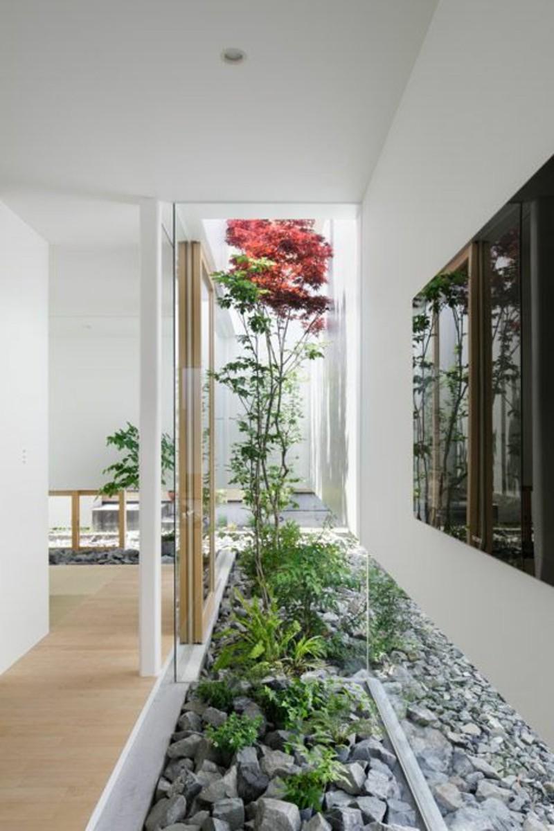 Einrichtungsbeispiele im Japanischen Stil lebendiges Interieur