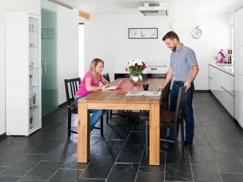 Gestaltungsideen Zum Leben Mit Naturstein Bodenbelag Kuche 22  Gestaltungsideen Zum Leben Mit Naturstein | Einrichtungsideen ...