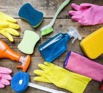 Haushalt Tipps für eine viel schnellere und effektivere Reinigung