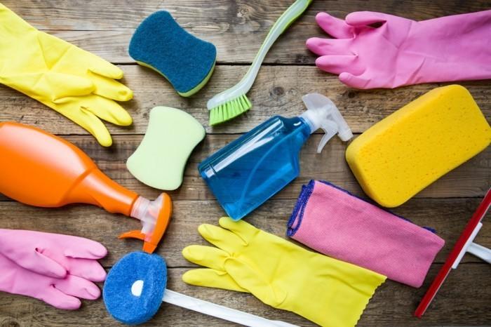 Haushalt Tipps nötige Utensilien Reinigungsmittel
