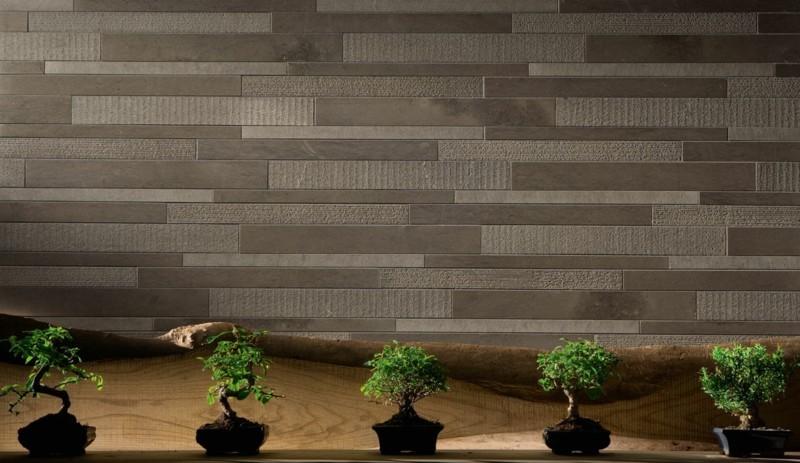Innendesign im japanischen Stil Zimmerpflanzen