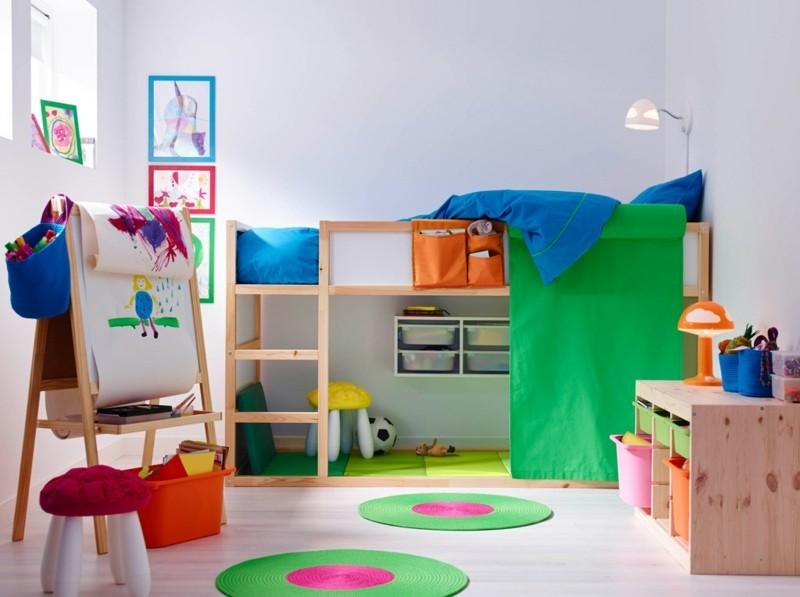 spielecke im kinderzimmer einrichten ideen – bigschool, Schlafzimmer