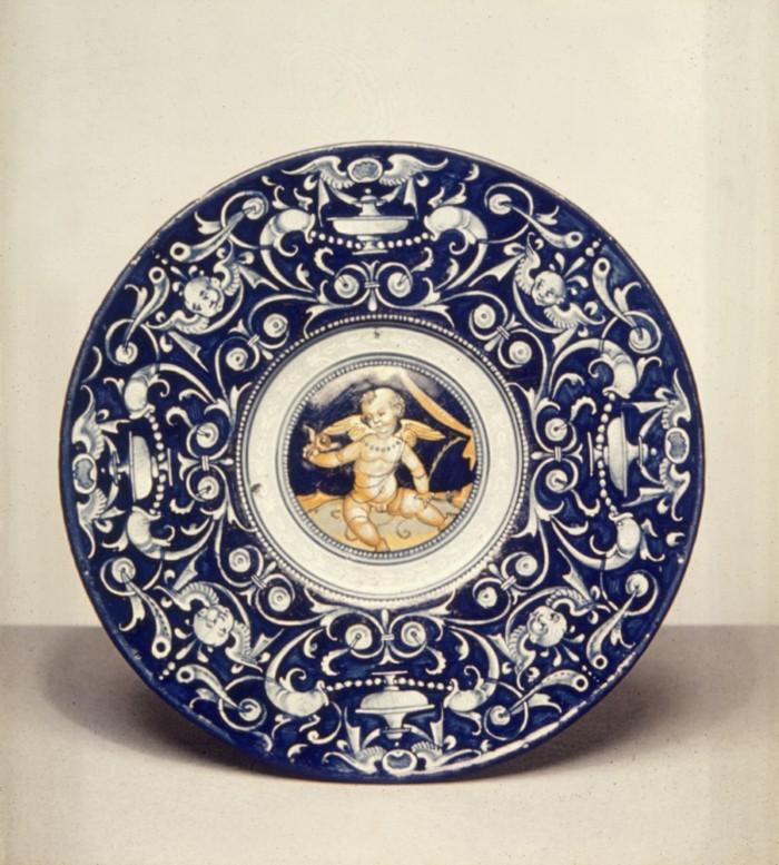 majolika keramik italien exponat hangemacht 2