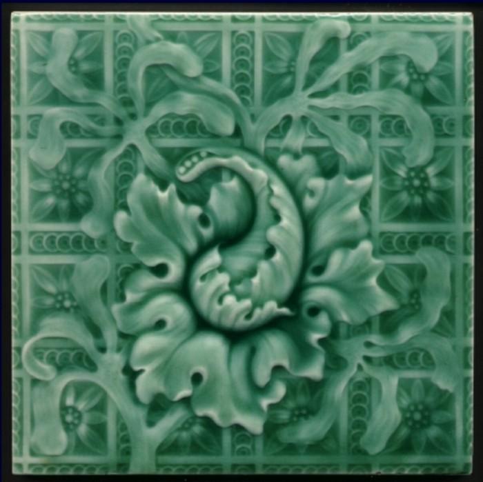 majolika keramik italien exponat hangemacht muster traditional 1890