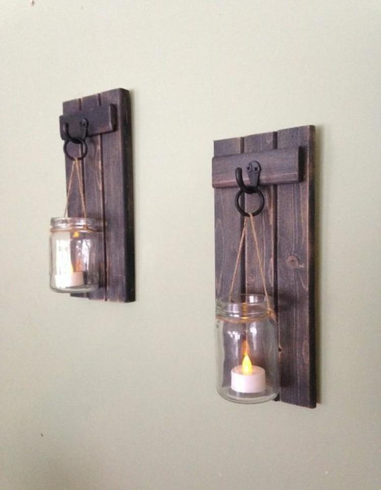 paletten kaufen diy_deko ideen teelichtehalter