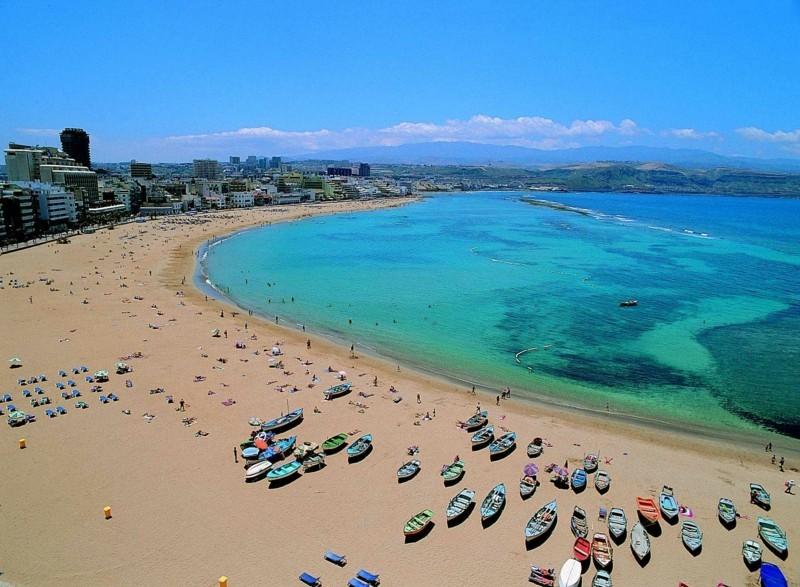 reiseziel kanaren meerurlaub strand sonne sand