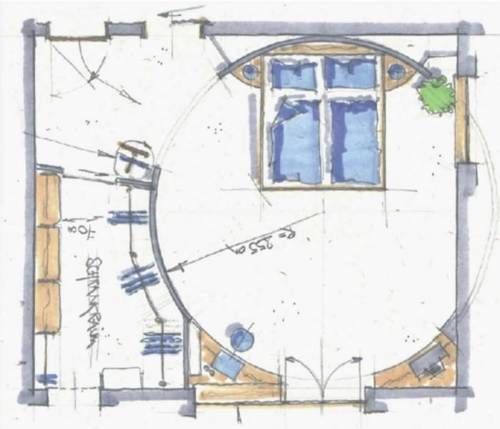 einbauschrank einrichtungsbeisoiele wohnideen deko ideen grundriss planung