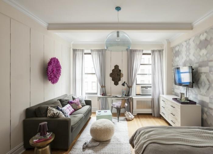 einrichtungsideen wohnzimmer einrichten vintage stil kleiner raum