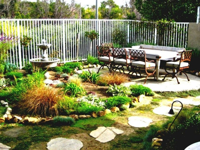 Garteneinrichtung Gartenideen Pflanzen Bereiche Cooler Gartenweg