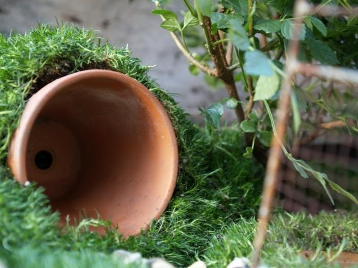 gartengestaltung ideen gartenideen pflanzengefäße