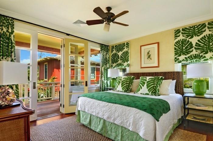 gestaltung schlafzimmer - 20 beispiele, wie sie ein exotisches