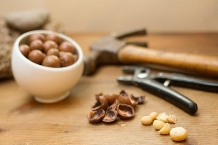 gesundes essen proteine quellen nüsse