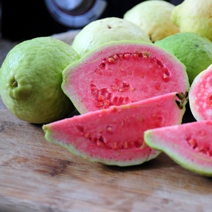 gesundes obst lebe gesund guave hauptsache gesund scheiben