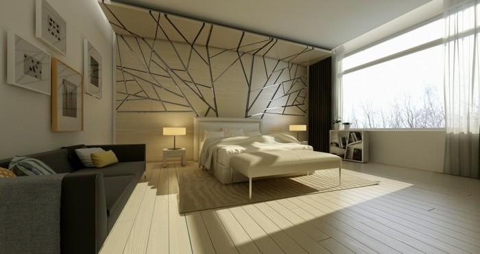 ideen für wandgestaltung schlafzimmer wande wandbilder