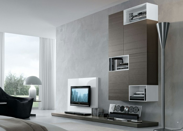 wohnzimmer design wandgestaltung. Black Bedroom Furniture Sets. Home Design Ideas