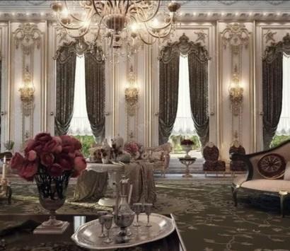 Baroque Elemente im modernen Innendesign