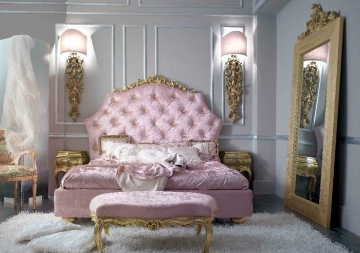 wohnzimmer inspirationen im barock mit farbgestaltung in gelb und ...