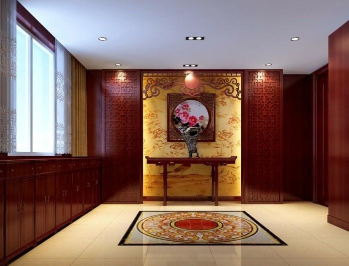 innendesign einrichtungsbeispiele wohnideen deko ideen china gold