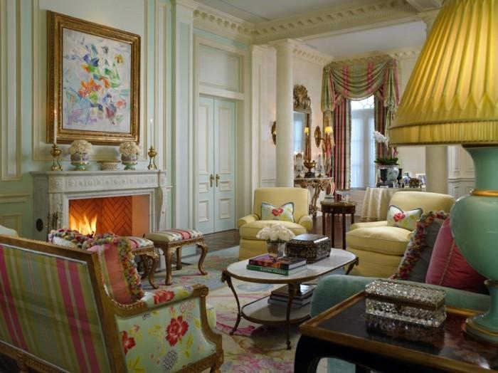 Innendesign Ideen im Art Deco Stil lassen den Raum edler erscheinen