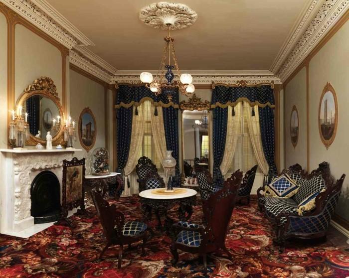 Zimmer einrichten Ideen im Stil Rokoko, welche dem Raum ...