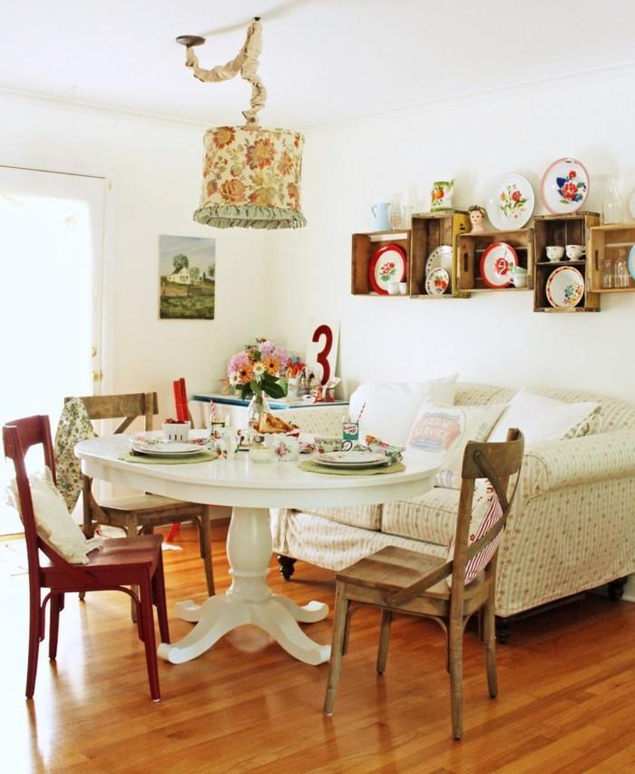 einrichtungsideen vintage provence und shabby chic im. Black Bedroom Furniture Sets. Home Design Ideas