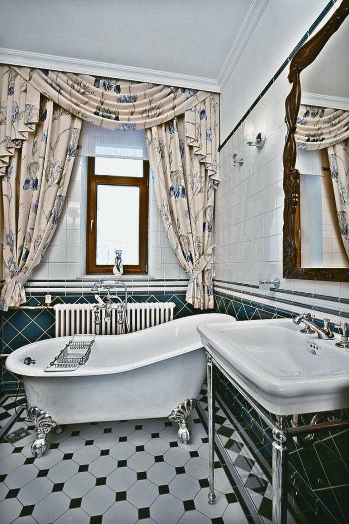 Innendesign Wohnideen Einrichtungsbeispiele Jugendstil Sofa Badezimmer