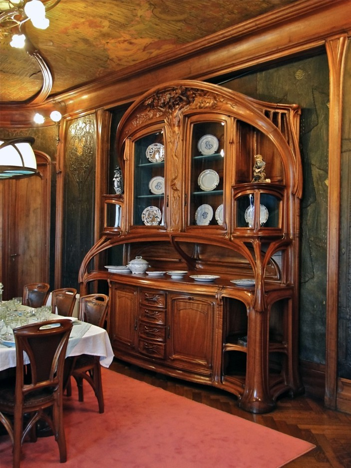 jugendstil als ausdruck im innendesign. Black Bedroom Furniture Sets. Home Design Ideas