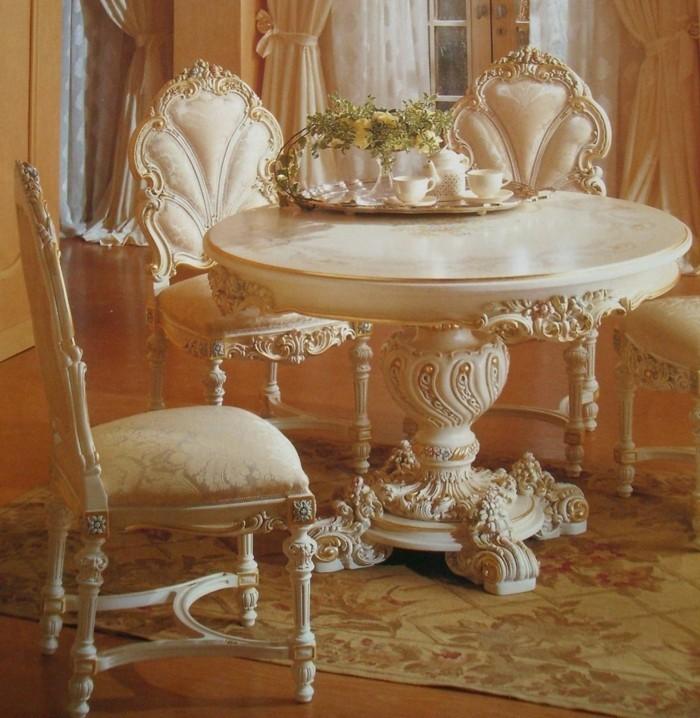 innendesign wohnideen rokoko stil möbeldesign
