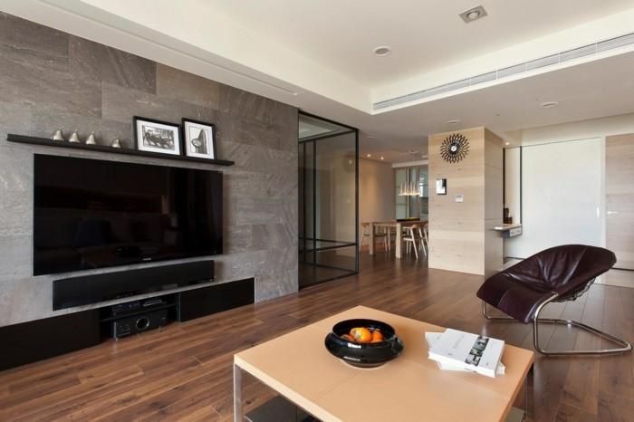 innendesign wohnzimmer einrichten moderne wohnwand