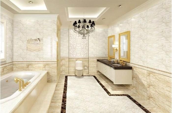 inneneinrichtung badezimmer keramische fliesen römischer stil