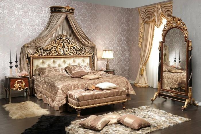 inneneinrichtung ideen einrichtungsbeispiele bodenbelag klassisch schlafzimmer ideen