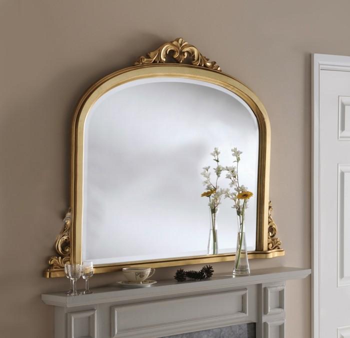 inneneinrichtung ideen einrichtungsbeispiele bodenbelag klassisch spiegel