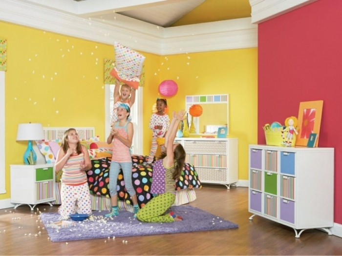 Wohnungseinrichtung kombinationen mit gelb in der for Inneneinrichtung kinderzimmer